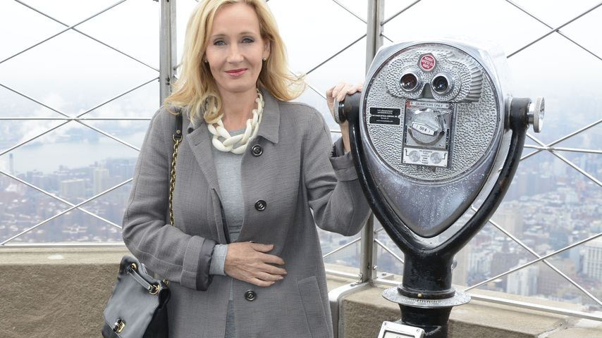 J.K. Rowling auf dem Empire State Building in New York