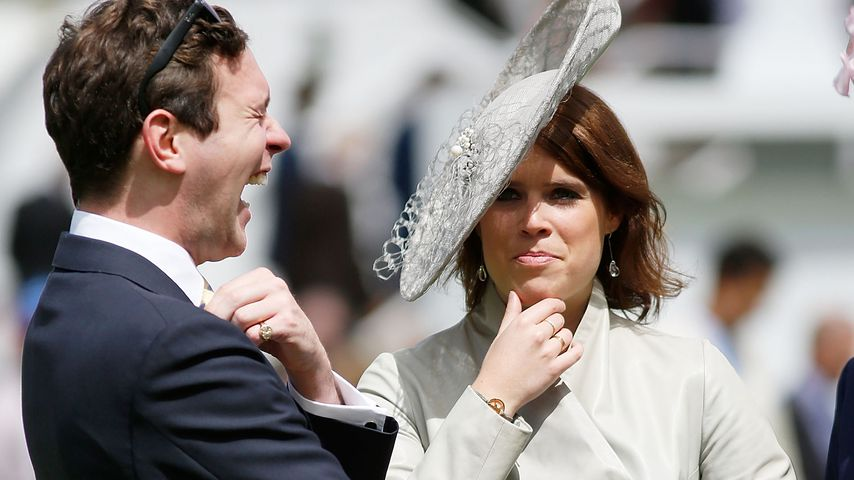 Jack Brooksbank und Prinzessin Eugenie 2015 in Chichester
