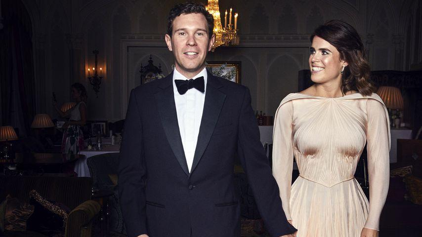 Jack Brooksbank und Prinzessin Eugenie an ihrem Hochzeitstag