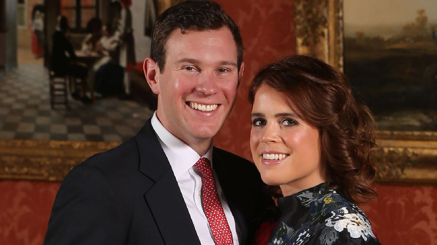 Jack Brooksbank und Prinzessin Eugenie im Januar 2018 in London