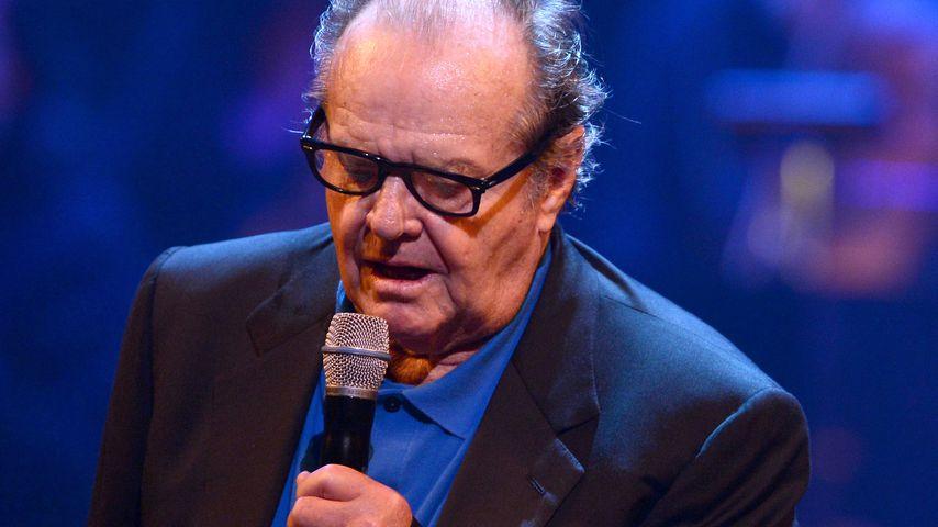 Jack Nicholson 2012 auf der Bühne
