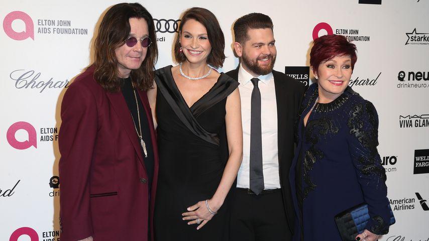 Sharon Osbourne, Ozzy Osbourne, Lisa Osbourne und Jack Osbourne