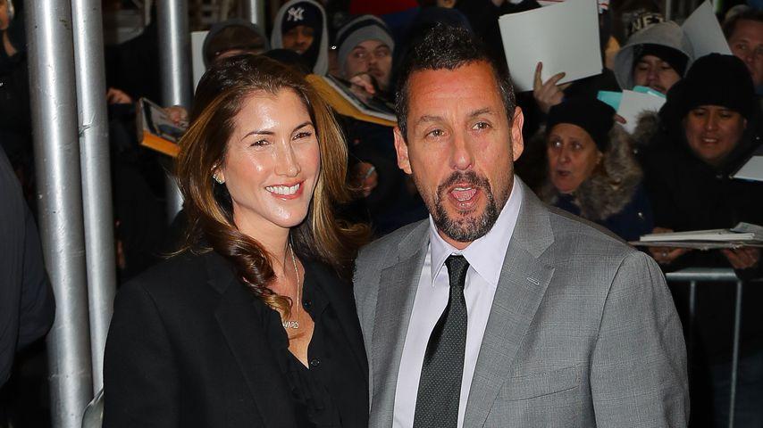 Jackie und Adam Sandler beim National Board of Review in New York