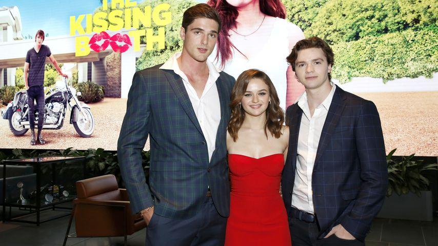 "Jacob Elordi, Joey King und Joel Courtney von ""The Kissing Booth"""