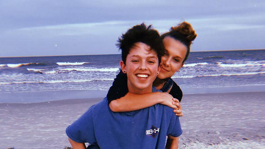 Jacob Sartorius und Millie Bobby Brown, Mai 2018