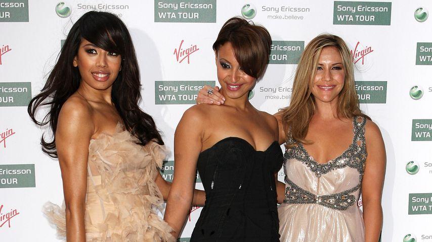 Jade Ewen, Amelle Berrabah and Heidi Range von den Sugababes