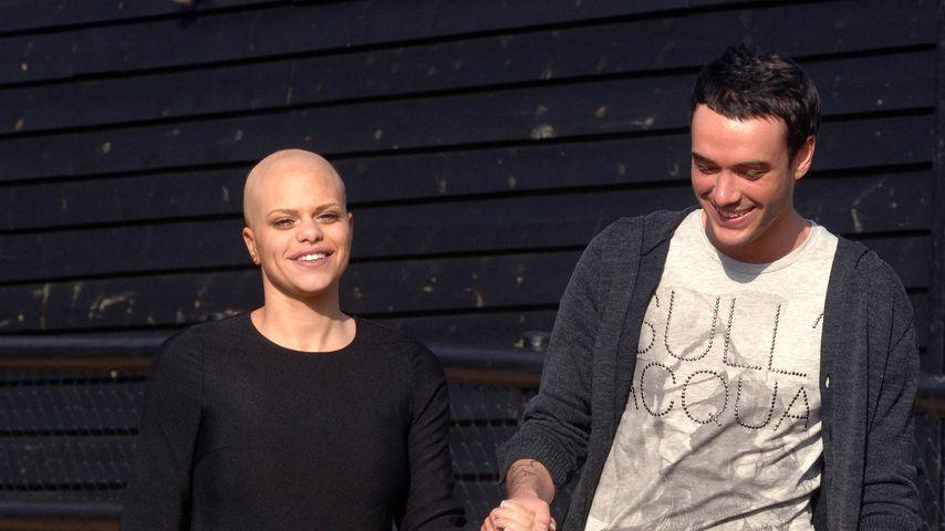 Jade Goody und Jack Tweed im Februar 2009