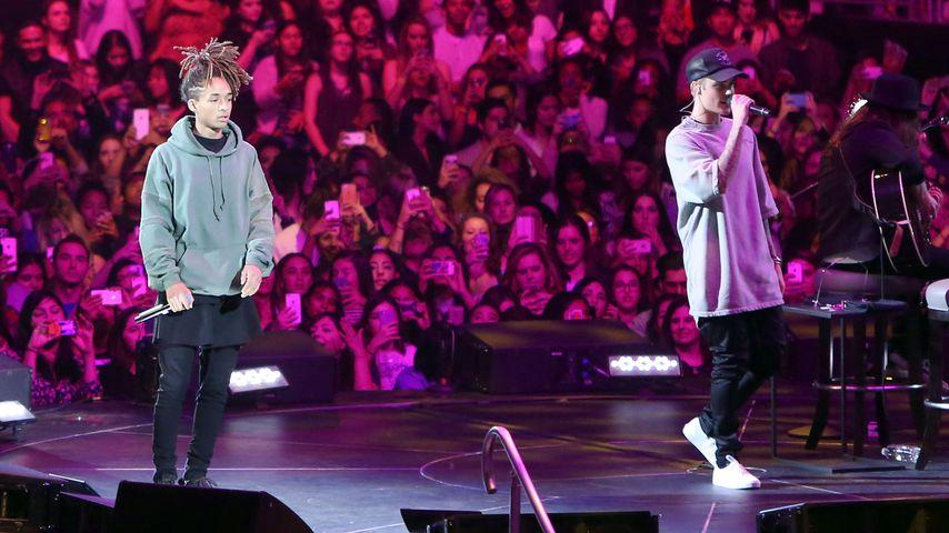Jaden Smith und Justin Bieber, November 2015