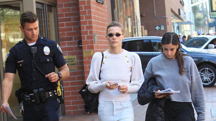 Jaime King unmittelbar nach dem Vorfall in Beverly Hills