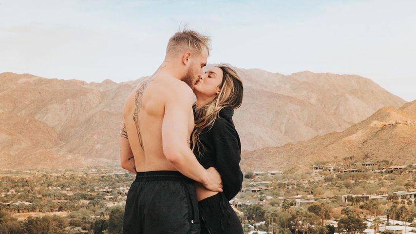 US-YouTuber Jake Paul mit seiner Freundin Julia Rose