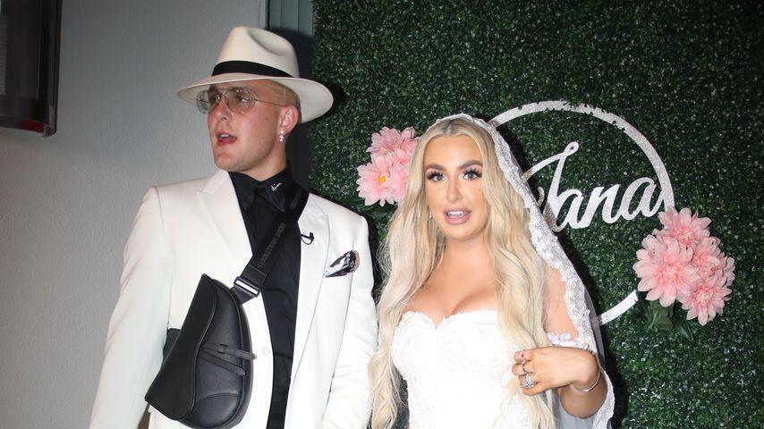Jake Paul und Tana Mongeau an ihrem Hochzeitstag