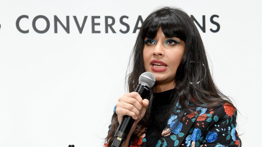 Jameela Jamil bei einem Presseevent in NYC im März 2020