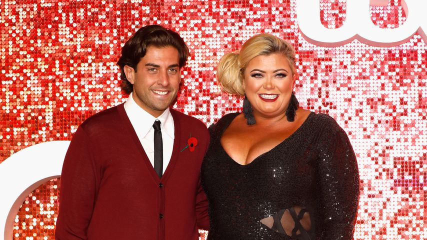 James Argent und Gemma Collins 2017 in London