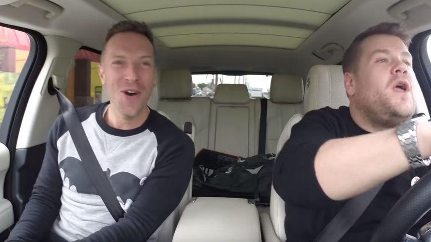 """Chris Martin gesteht: """"Super Bowl""""-Gig macht ihn nervös!"""