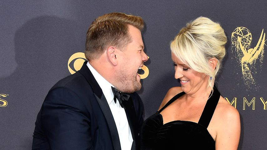 James Corden und Julia Carey bei den Emmy Awards 2017