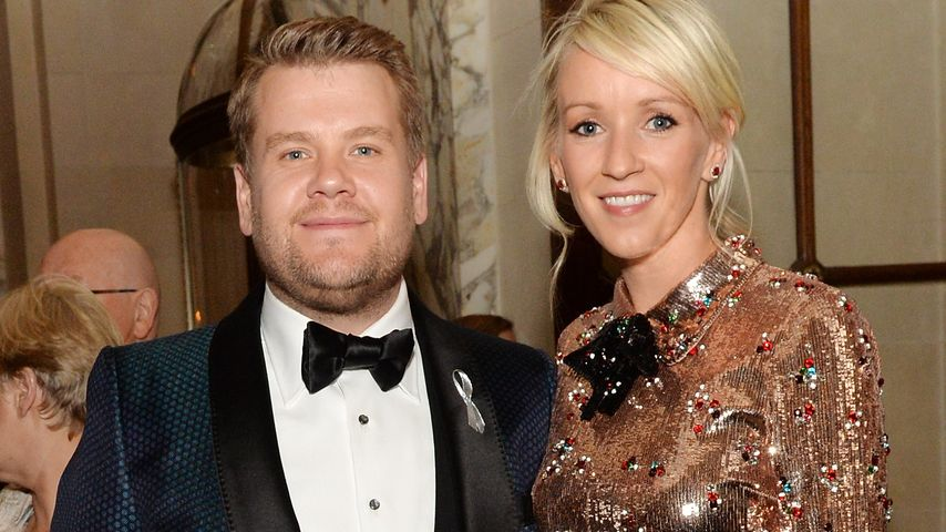 James Corden und Julia Carey bei der Tony Awards Gala 2016