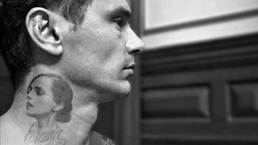 Tattoo-Wahn: James Franco hat jetzt Emma Watson am Hals!