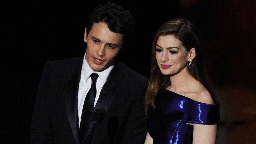 James Franco und Anne Hathaway, Februar 2011