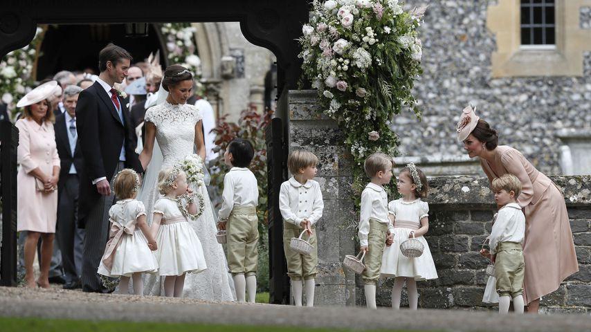 James Matthews, Pippa Midlleton, Prinz George und Herzogin Kate