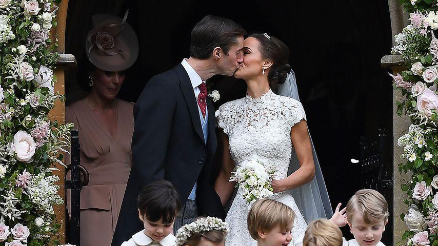James Matthews und Pippa Middleton