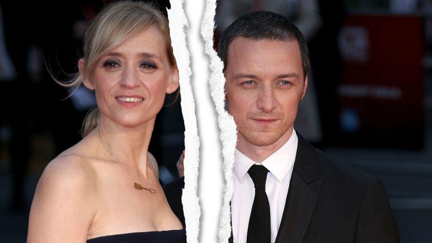 Ehe-Aus! Scheidung bei James McAvoy & Anne-Marie Duff