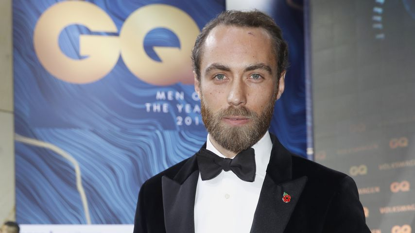 James Middleton im November 2018