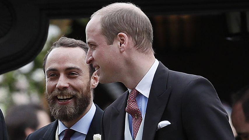 James Middleton und Prinz William