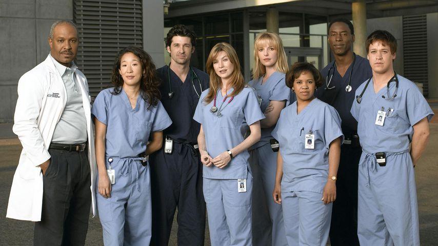 """Der """"Grey's Anatomy""""-Cast der ersten Staffel"""
