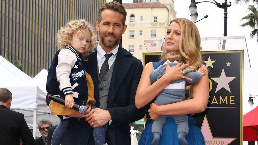 Wow-Auftritt: Blake Lively zeigt Baby-Bauch in sexy Kleid
