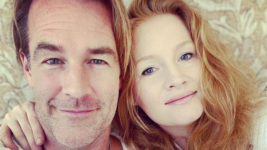 James Van der Beek und seine Frau Kimberly im August 2021