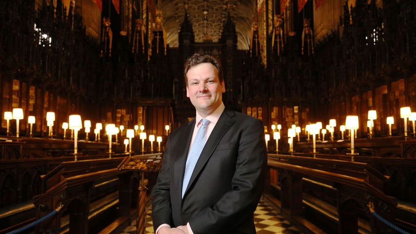 James Vivian auf Schloss Windsor in London