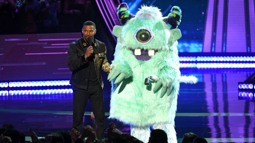T-Pain (r., im Monster-Kostüm) mit Jamie Foxx bei den iHeartRadio Music Awards 2019