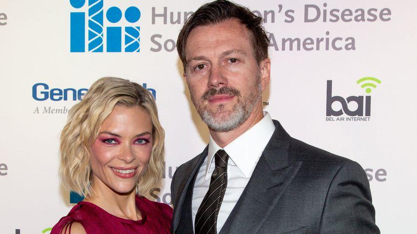 Jaime King und ihr Mann bei einer Gala