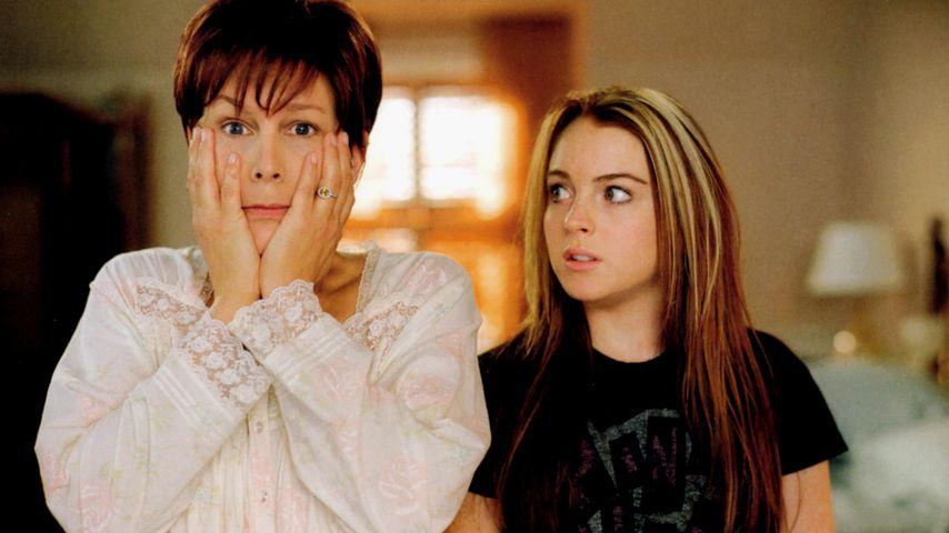 """Jamie Lee Curtis und Lindsay Lohan in """"Freaky Friday"""""""