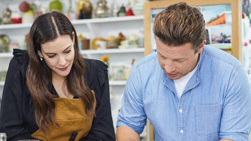 Jamie Oliver kocht mit Liv Tyler