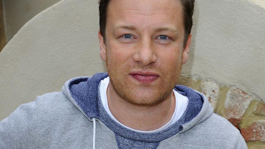 Jamie Oliver kämpft sich durch sein erstes Buch