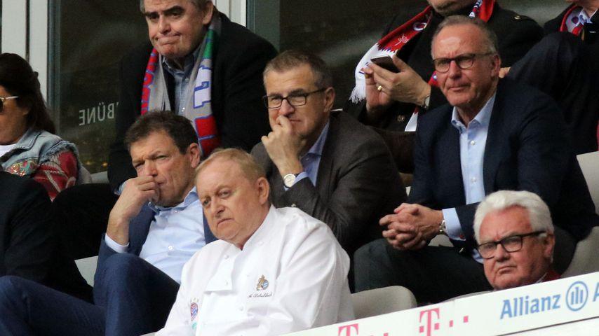 Jan-Christian Dreesen bei einem Spiel des FC Bayern München