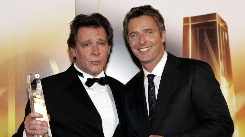 Jan Fedder und Jörg Pilawa beim Deutschen Filmpreis, 2006