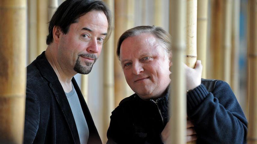 Jan Josef Liefers und Axel Prahl 2013