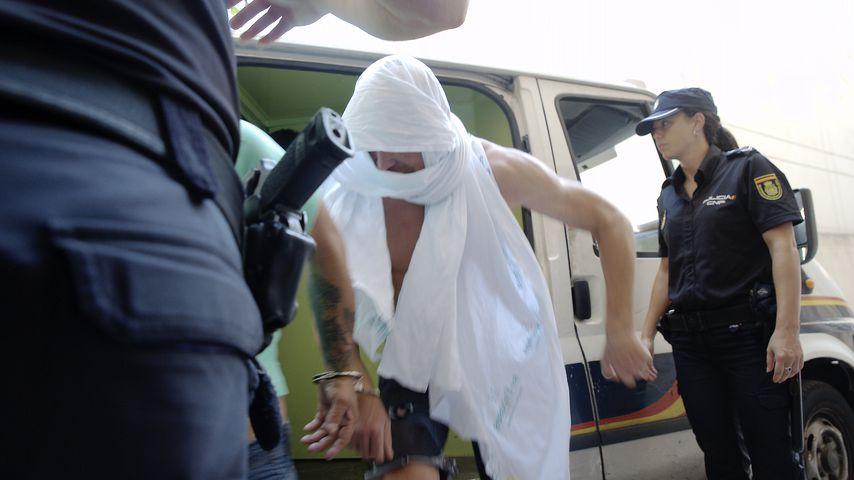 Jan Ullrich bei seiner Verhaftung