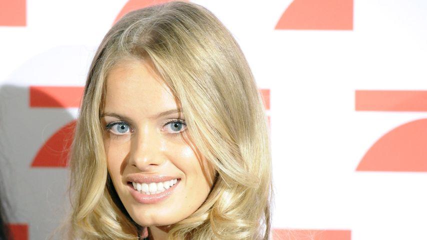 "Jana Beller bei einem ""Germany's next Topmodel""-Pressetermin, 2011"