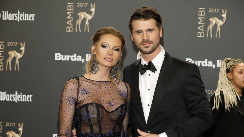 Jana Julie Kilka und Thore Schölermann bei der Bambi-Verleihung 2017