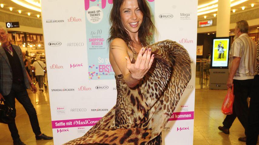 """Jana Pallaske bei der """"Maxi Fashion & Style Tour"""""""