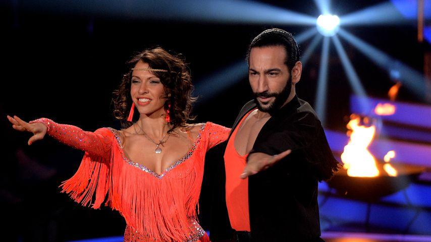 """Jana Pallaske und Massimo Sinató bei """"Let's Dance"""""""