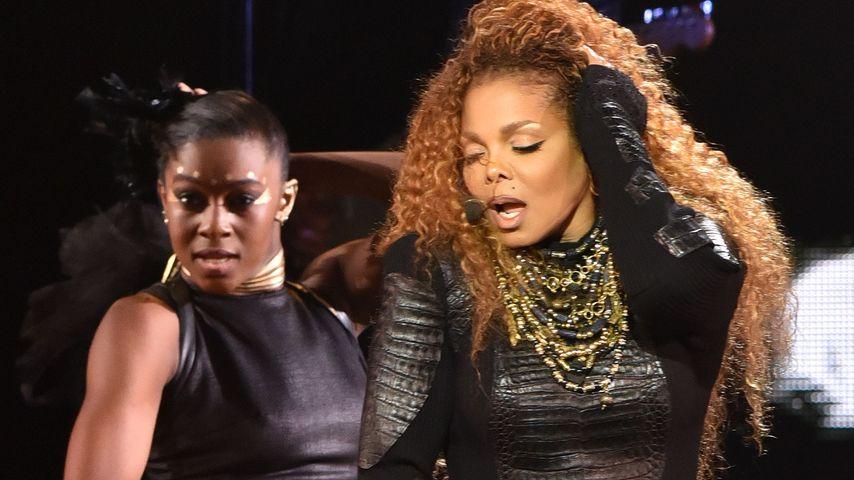 Janet Jackson bei einem Konzert in San Francisco
