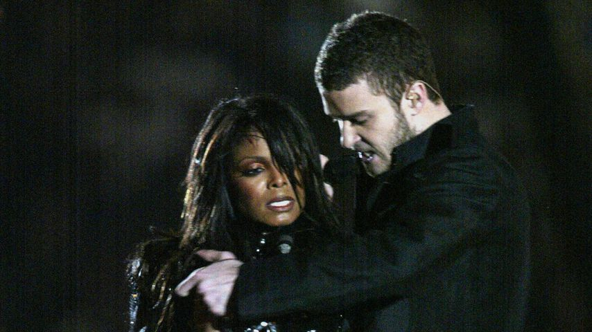 Janet Jackson und Justin Timberlake beim Superbowl