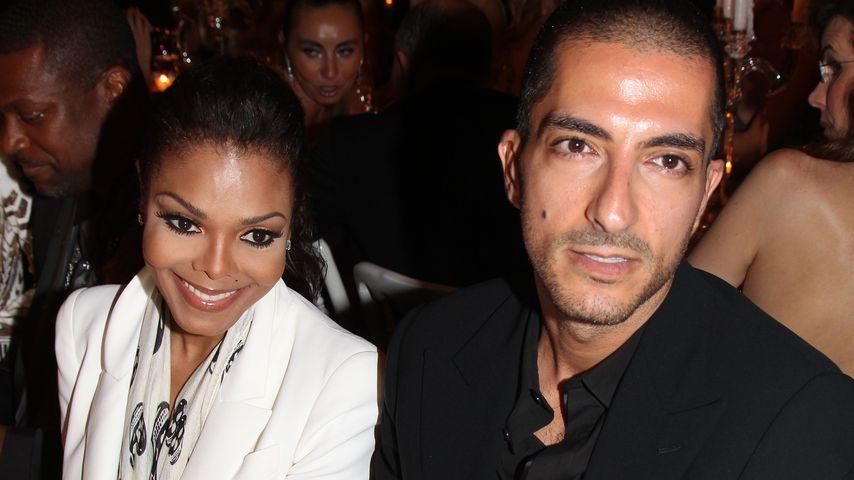 Janet Jackson und Wissam Al Mana in Cannes