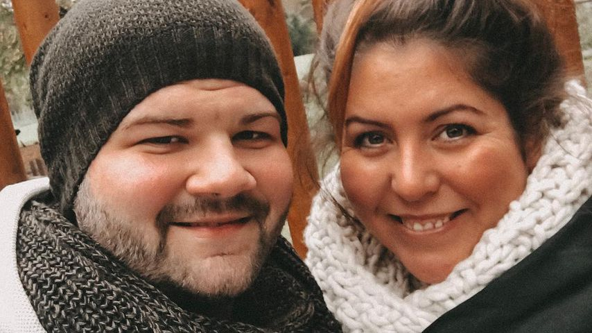 Janina El Arguioui und ihr Partner Christian