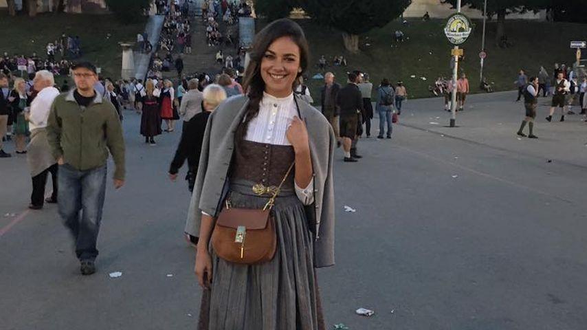 Stylishes Wiesn-Madl: Janina Uhse weiß einfach, wie es geht