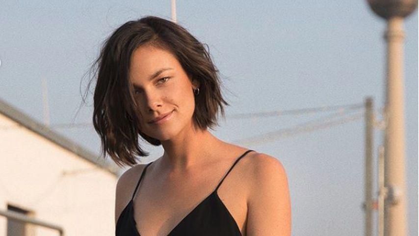 Ihre Haare sind ab: Janina Uhse trägt jetzt einen kurzen Bob